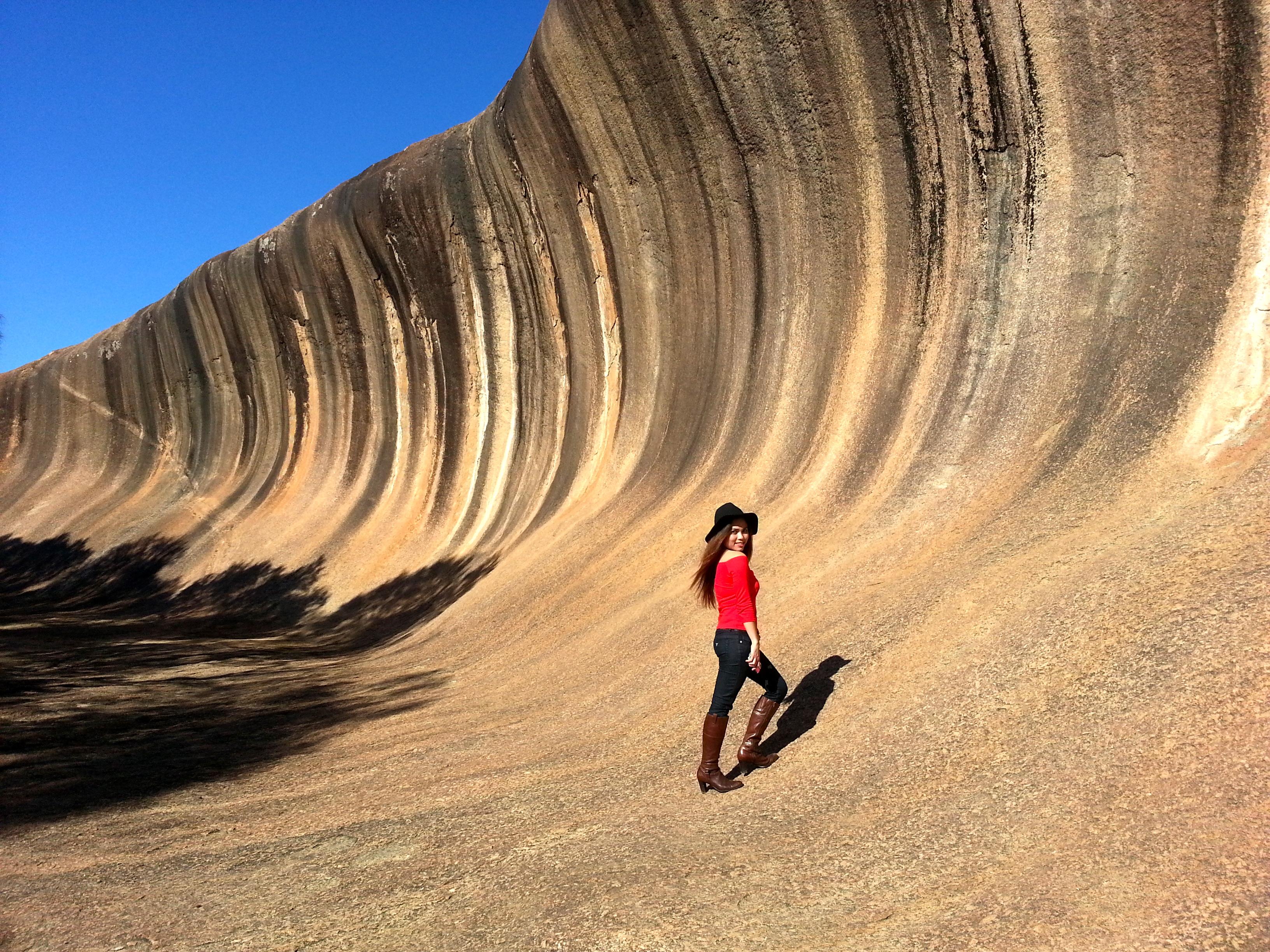 Wave Rock Geraldine Goopio