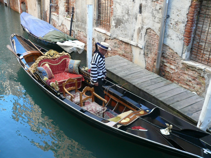 Exploring the city of canals, Venice.